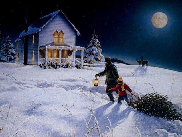 Les images de Noël (Paysages et illustrations féeriques) 2af13166