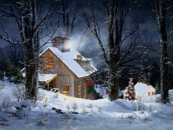 Les images de Noël (Paysages et illustrations féeriques) 8ebd0005