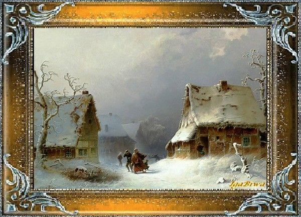 Les images de Noël (Paysages et illustrations féeriques) 9dffe949