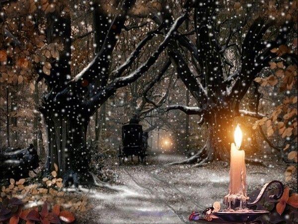 Les images de Noël (Paysages et illustrations féeriques) C6d59707